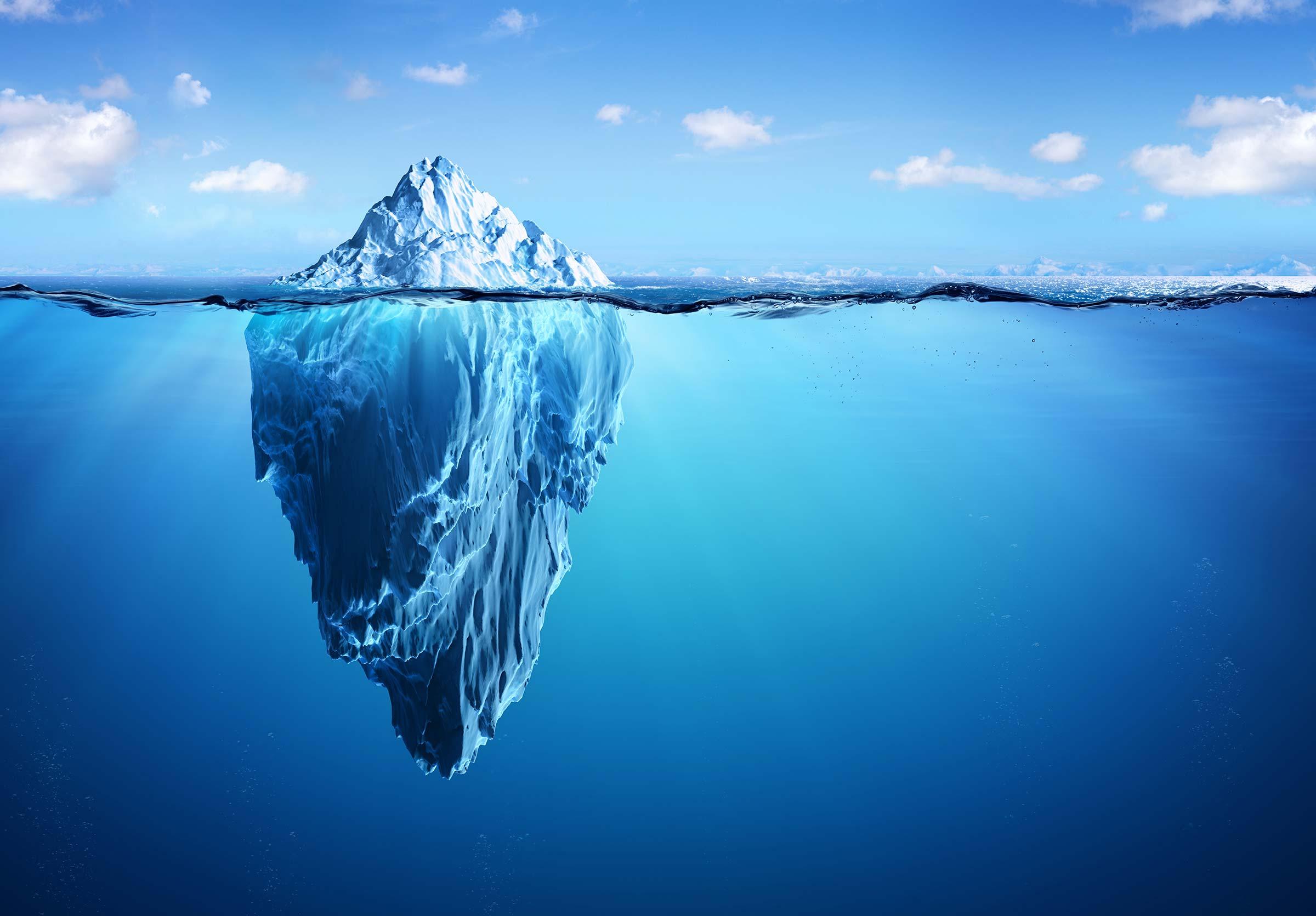 Oops! The burping iceberg!