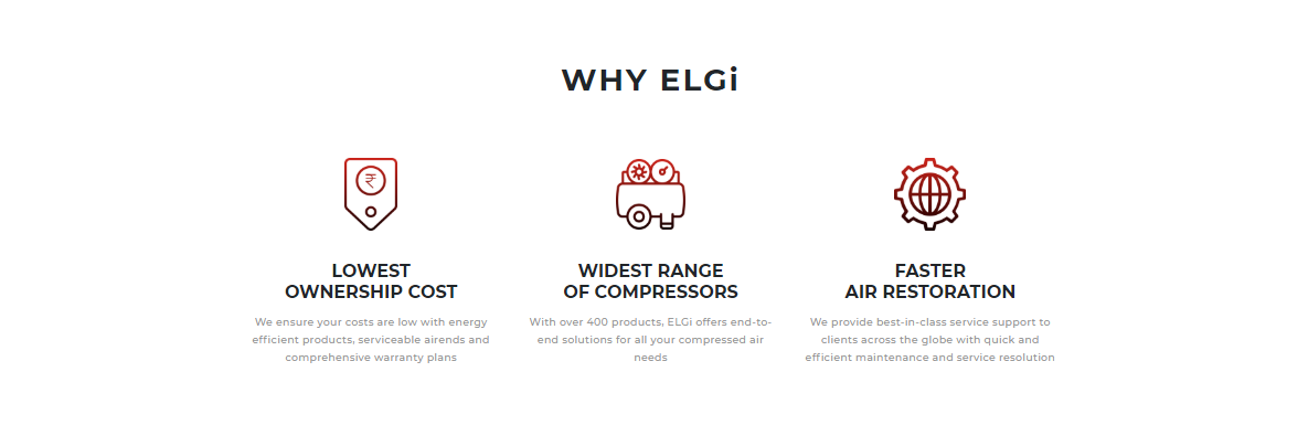 Why make ELGi your service partner?