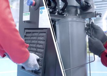 A 3 step approach to maintain an air compressor for optimum performance