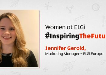 Women at ELGi #InspiringTheFuture – Jennifer Gerold