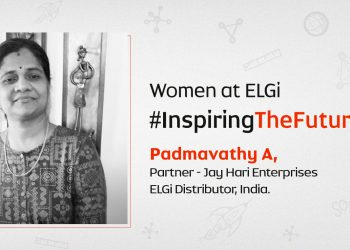 Women at ELGi #InspiringTheFuture – Padmavathy A