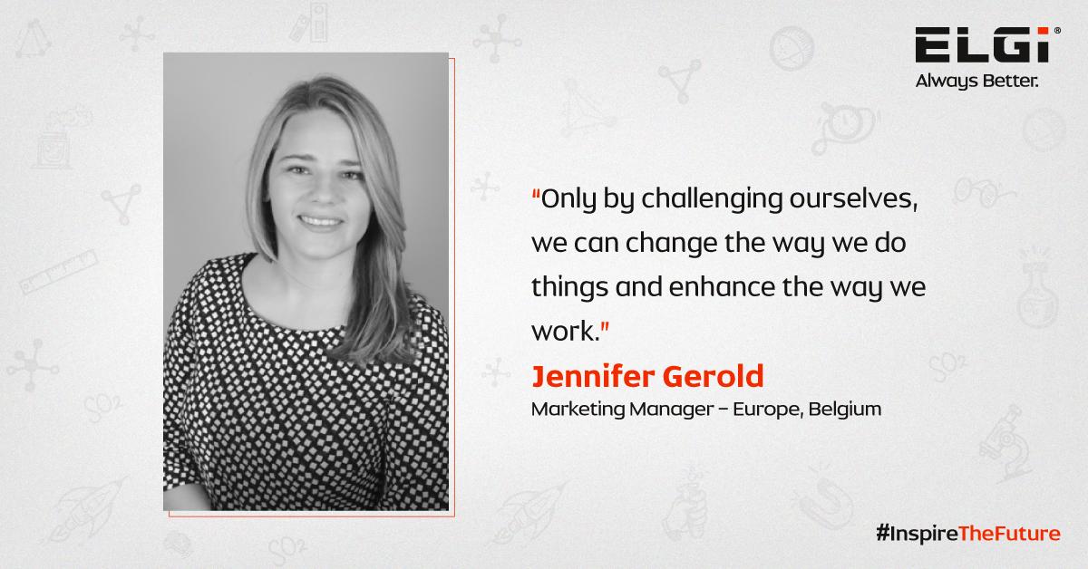 Women at ELGi #InspiringTheFuture – Jennifer Gerold