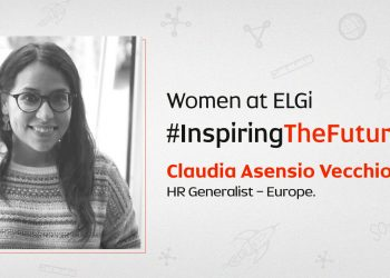 Women at ELGi #InspiringTheFuture – Claudia Asensio Vecchio