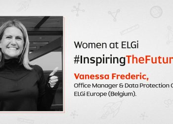 Women At ELGi #InspiringTheFuture – Vanessa Frederic