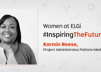 Women at ELGi #InspiringTheFuture – Karmin Reese